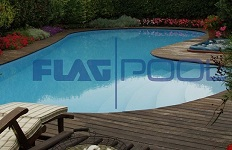 constructie piscina cu liner