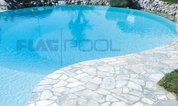 piscina construita cu liner
