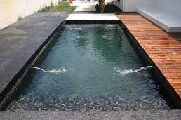 mozaic negru piscina